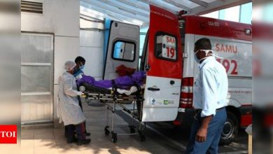 Brazil reports 1,129 more Covid-19 deaths - Times of India