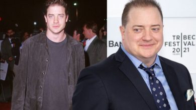Brendan Fraser shows his body transformation ahead of playing 600lb recluse in new film