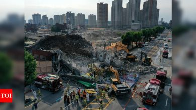 Building collapse in South Korea kills 9, injures 8 - Times of India