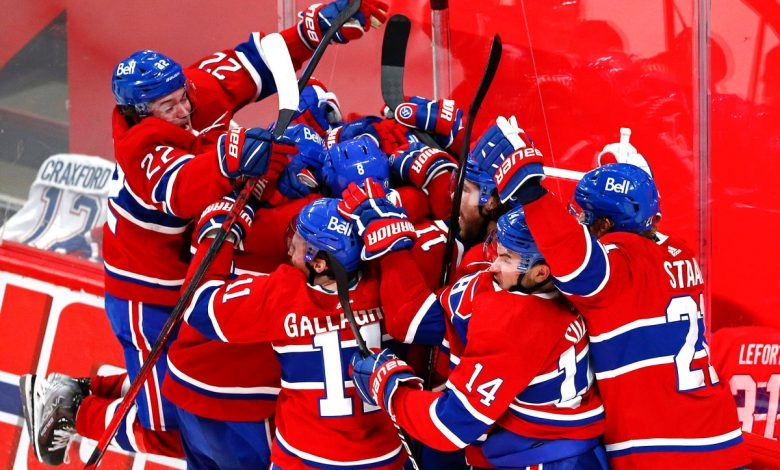 Canadiens nip Golden Knights in OT to reach Stanley Cup Final