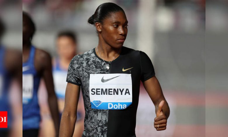Caster Semenya fails again in 5,000m Olympic qualifying bid   More sports News - Times of India
