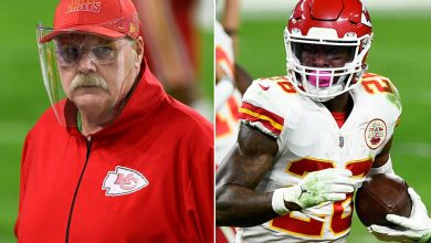 Chiefs' Andy Reid reacts to Le'Veon Bell's 'retire' swipe