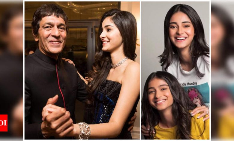 Chunky Panday: When Ananya and Rysa fight, they scream, and our dogs bark - Times of India