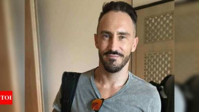 Concussed Faf du Plessis ruled out of remaining PSL matches, returning home | Cricket News - Times of India