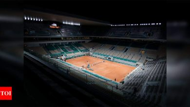 Curfew gives French Open headache over night sessions | Tennis News - Times of India