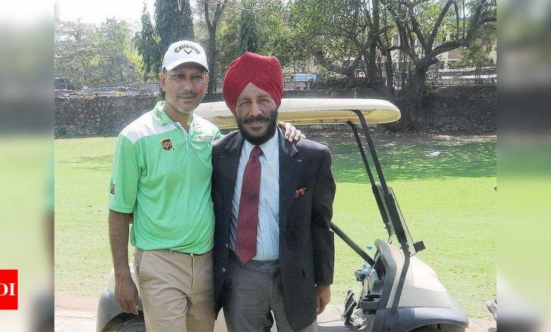 Dad was my best friend, guide, mentor: Jeev remembers Milkha Singh   Off the field News - Times of India