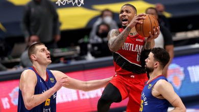 Damian Lillard's 55 points not enough as Trail Blazers fall to Nuggets in double OT