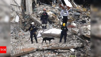 Death toll climbs to 11 in Florida condo collapse, 150 missing - Times of India