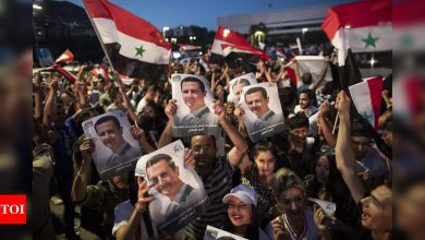 Decade of Syria war killed nearly 500,000 people - Times of India