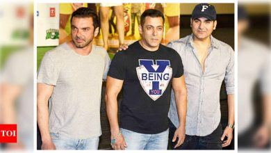 Did you know Salman Khan, Arbaaz Khan and Sohail Khan were obsessed with superheroes in their childhood? - Times of India