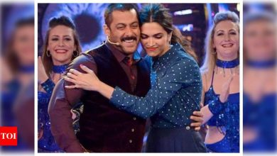 Did you know that once Deepika Padukone went down on her knees to propose to Salman Khan? - Times of India