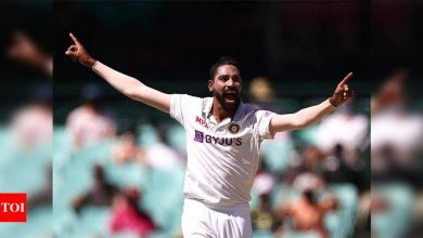 EXCLUSIVE: For me the WTC final is like a World Cup match; if given the opportunity, I will give my best, says Mohammed Siraj | Cricket News - Times of India