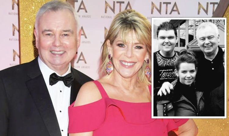 Eamonn Holmes: This Morning presenter shares rare snap with all four of his children