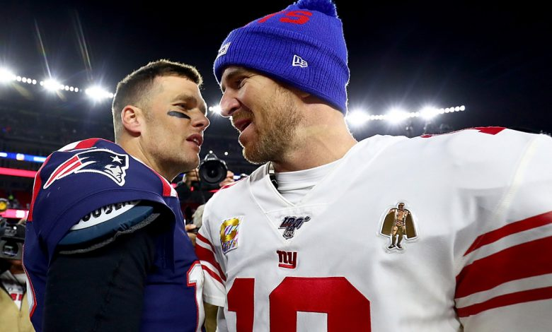 Eli Manning couldn't resist jab at Tom Brady in Giants Father's Day video