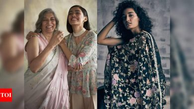 Embroidered treasures of Parsi saris - Times of India