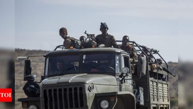 Eritrean forces withdraw from key towns in Ethiopia's Tigray - Times of India