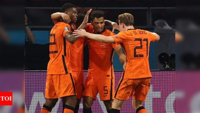 Euro 2020: Depay and Dumfries send Netherlands into the last 16 | Football News - Times of India