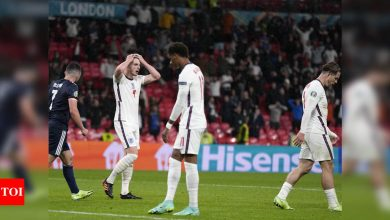 Euro 2020: Lacklustre England held as Scotland make their point | Football News - Times of India