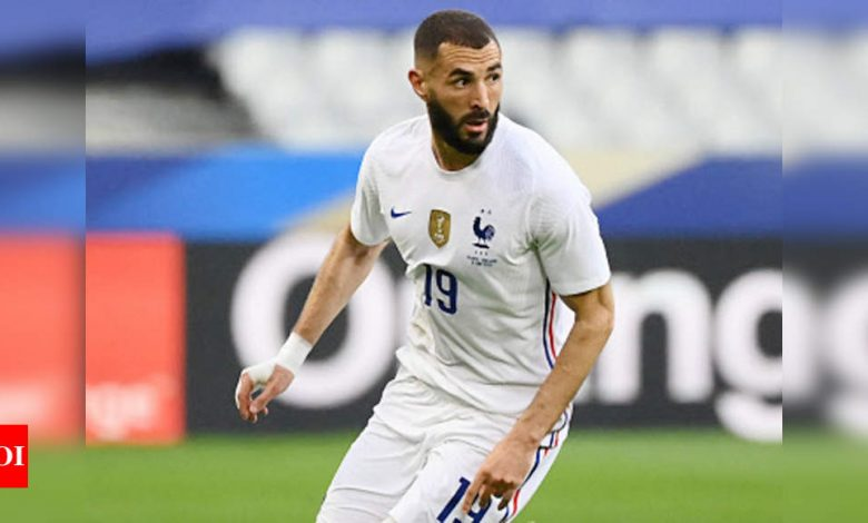 Euro 2021: France striker Benzema should be fit to face Germany | Football News - Times of India