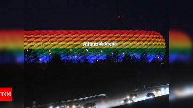 Euro 2021: UEFA turn down request for 'rainbow lights' in Munich | Football News - Times of India