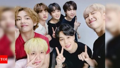 """FESTA 2021: BTS drops the """"special clip"""" of their emotional performance of 'Mikrokosmos' for their ARMY - Times of India"""