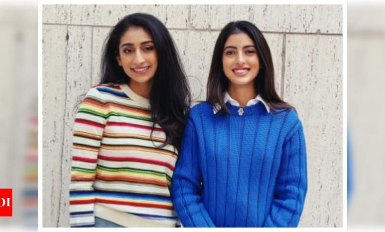 """Fans call Navya Naveli Nanda """"absolute girlboss"""" as she shows off her """"somewhat professional"""" look - Times of India"""