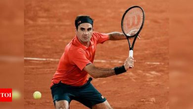 Five Roger Federer moments at French Open   Tennis News - Times of India
