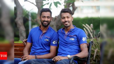 For Krunal and I the lockdown period last year was a phase of improvement, it made us brutally honest: Hardik Pandya | Cricket News - Times of India