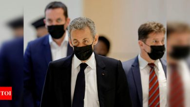 France's Nicolas Sarkozy faces jail term in campaign financing trial - Times of India