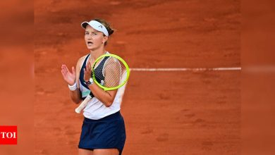 French Open 2021: Barbora Krejcikova has edge in battle of first-timers   Tennis News - Times of India