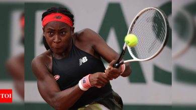 French Open 2021: Coco Gauff gears up for biggest clay test against Jennifer Brady   Tennis News - Times of India
