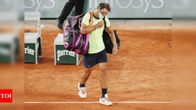 French Open 2021: Not my best day out there, says Rafael Nadal | Tennis News - Times of India