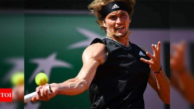 French Open: Zverev storms into third round with straight-sets victory   Tennis News - Times of India