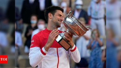 French Open done and dusted, Novak Djokovic on track for calendar Slam | Tennis News - Times of India