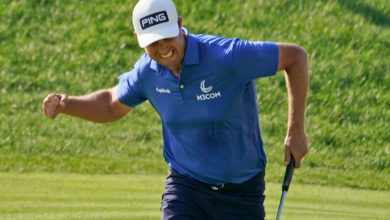 Harris English wins Travelers Championship in epic eight-hole playoff