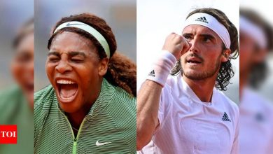 History-chasing Serena, Tsitsipas eye French Open second week   Tennis News - Times of India