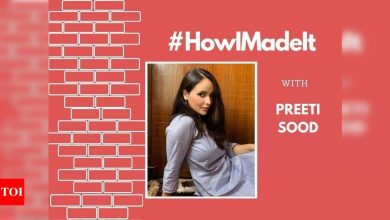 """HowIMadeIt! Preeti Sood: """"Cleavage and thigh exposure is a must, a filmmaker told me"""" - Times of India"""