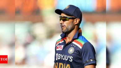 Humbled to lead my country: Shikhar Dhawan   Cricket News - Times of India