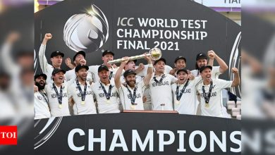 Inaugural WTC champions New Zealand return home with ICC mace | Cricket News - Times of India