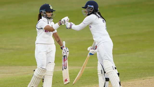 Sneh Rana and Taniya Bhatia shared an unbeaten 104-run stand for the ninth wicket to secure a memorable draw for India. AP