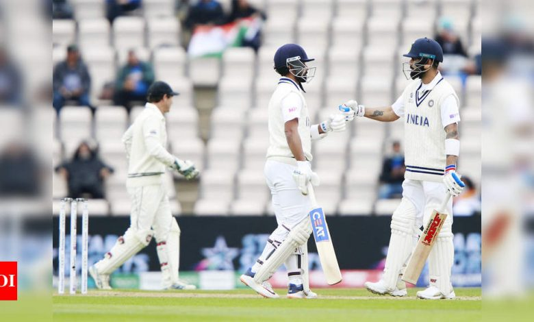 India vs New Zealand WTC Final: 250 is good first innings score in these conditions, says batting coach Vikram Rathour   Cricket News - Times of India