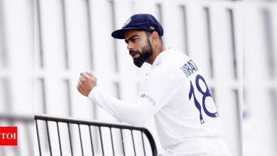 India vs New Zealand WTC Final: Looking at it as the first of 6 Tests in England, says Virat Kohli   Cricket News - Times of India