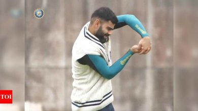 Indian team undergoes first group training session ahead of WTC final   Cricket News - Times of India