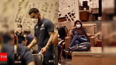 India's men and women cricket teams depart for England   Cricket News - Times of India