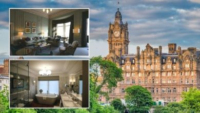 Inside the Balmoral: A look inside 'luxurious' £6,000 a night suite at Scotland hotel