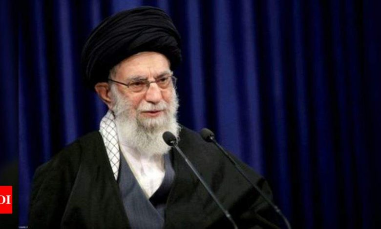 Iran supreme leader casts first ballot in presidential vote - Times of India
