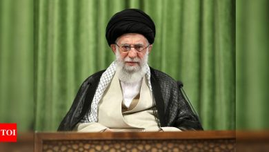 Iran wants action, not promises, to revive nuclear deal, Ayatollah Ali Khamenei says - Times of India