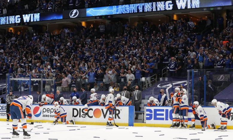 Islanders face enormous task of going from contender to champion