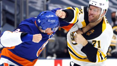 Islanders relish taking the fight to Bruins