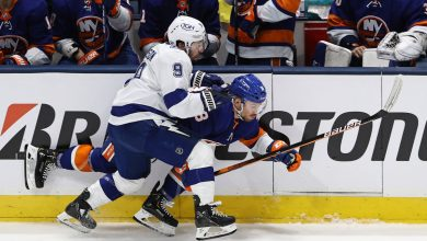 Islanders' top six can't find  groove against Lightning